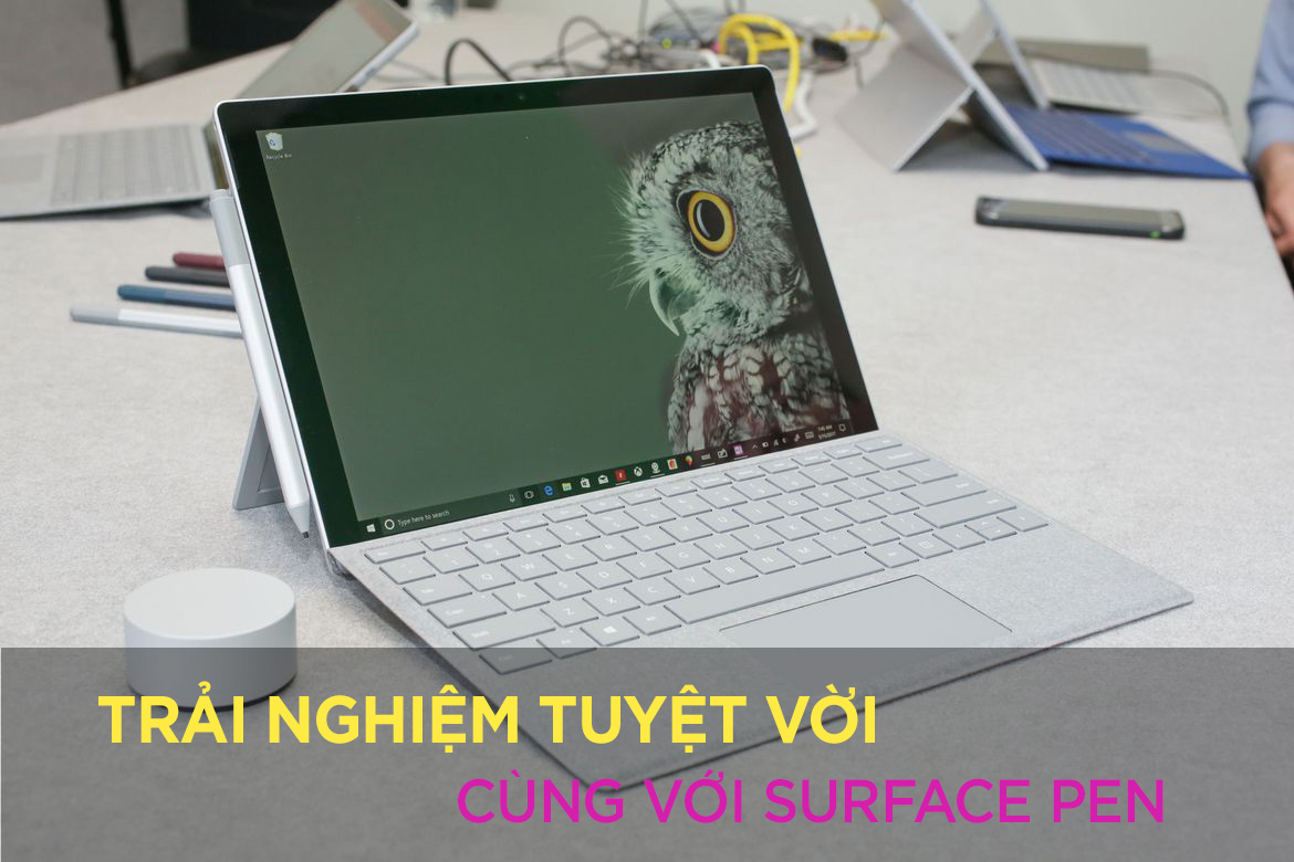 Surface Pro 2017 - 128 GB / Intel Core i5 / 4GB RAM 6
