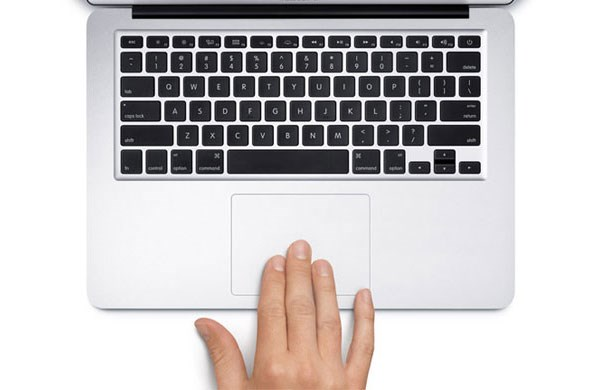 Macbook Air MD760 backlit keyboard, touchpad