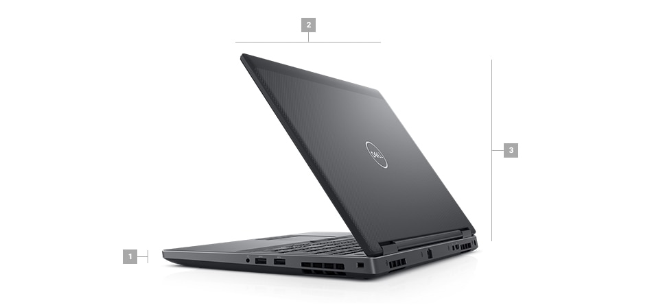 Precision 7530 Laptop- Dimensions & Weight